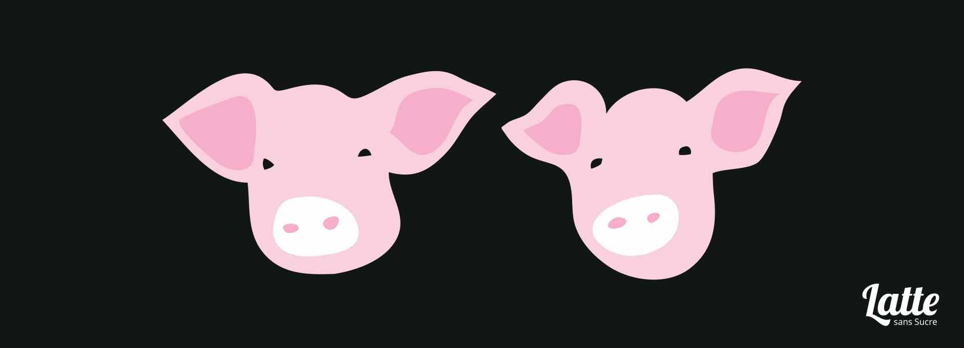 piques-assiettes-petits-cochons-bureau Comment reconnaître un pot de départ ?